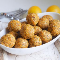lemon energy balls