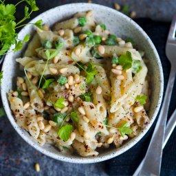 Delightful alfredo pasta