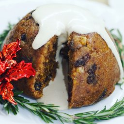 vegan Christmas pudding