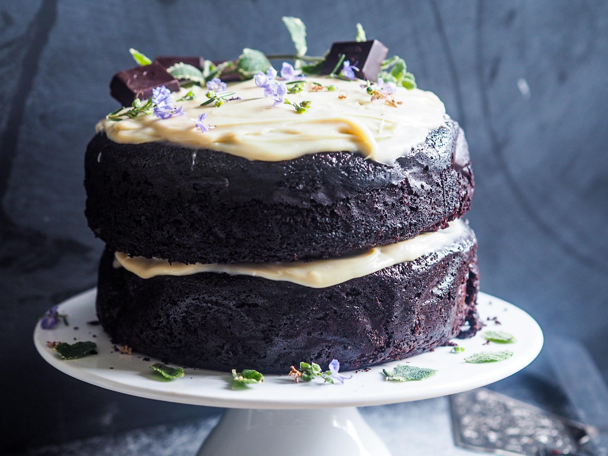 Mint Slice Chocolate celebration cake